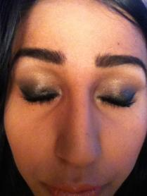 party smokey eye
